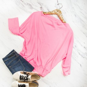 Neon Pink Boat Top *ALL SALES FINAL*