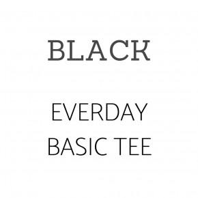 Everyday Basic Tee BLACK