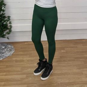 Evergreen Butter Full Length Leggings - One Size