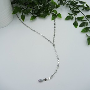 Silver Confetti Necklace