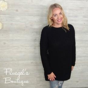 Ashton Knit Sweater - Black