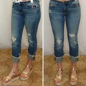 Ashley Cuffed Straight Leg Jean *Final Sale*