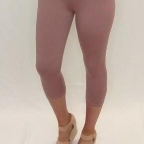 Mauve Butter Capri Legging