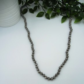 Bead Necklace TAUPE