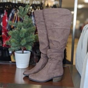 Winona Tall Boot - Dark Earth