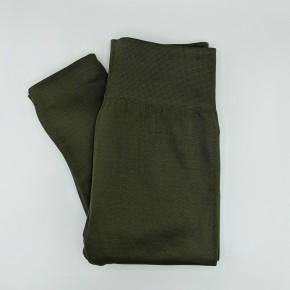 Olive Fleece Lined Leggings
