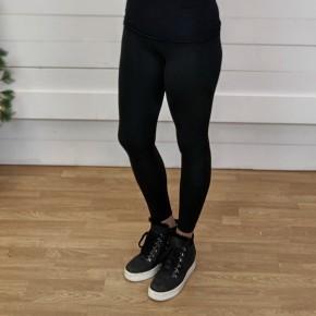 Extra Love Fleece Lined Leggings - Black