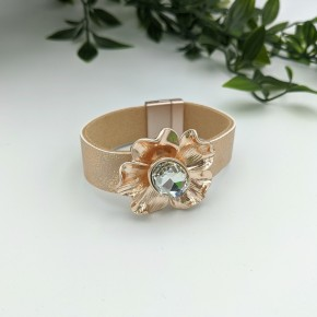 Magnet Closure Bracelet ROSE