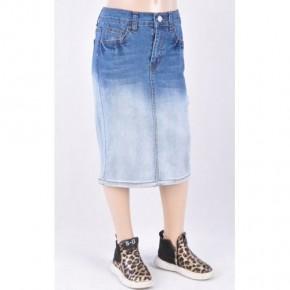 2 Tone Midi Skirt ~ Girls/Jrs. *Final Sale*