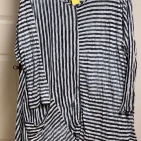 Striped Tunic w/ Pocket *Final Sale*