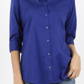 Button Up 3/4 Sleeve Top