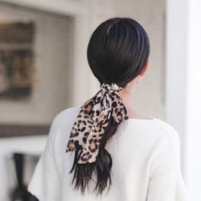 Leopard Tie Scrunchie *Final Sale*