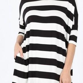 Wide Stripe Top