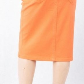 Be-Girl Girls/Jrs Twill denim Midi Skirt ~ Click for more colors!