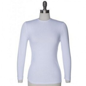 Fitted White 3/4 Sleeve Layering top *Final Sale*