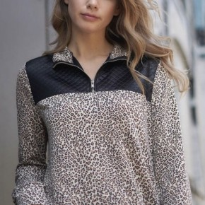 The Cheetah Lover Pullover