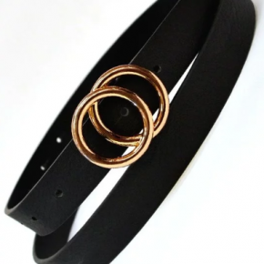 Double O Ring Buckle Belt