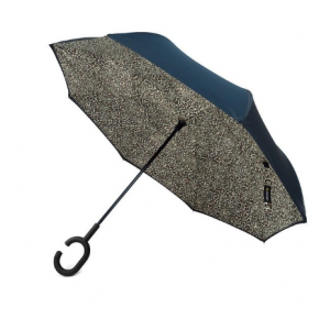 Leopard print Double Layer Inverted Umbrella