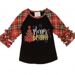 Merry & Bright Girls Top