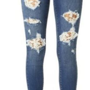 Judy Blue Lace Patch Skinny