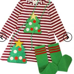 3 pc Tree Dress Set