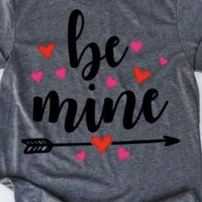 Be Mine Valentine's Day Tee