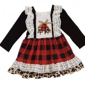 Pattern Tree Dress