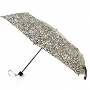 Small Compact Cheetah Print Umbrella