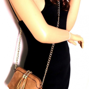 Drop Chain Cross Body Purse