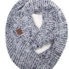 CC Fuzzy soft infinity scarf
