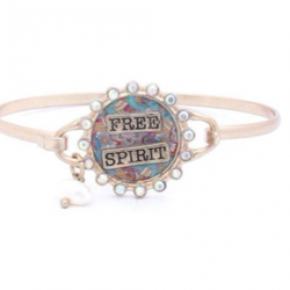 Free Spirit Metal Bracelet