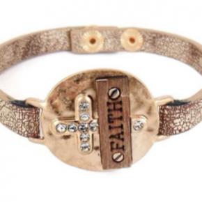 Faith Snap Bracelet