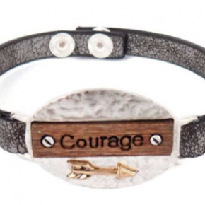 Courage Snap Bracelet
