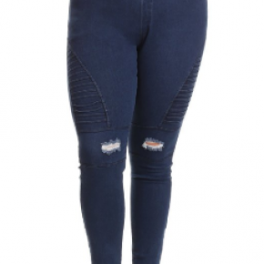 Plus Size Moto Jeggings