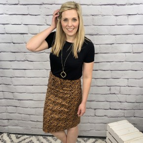 Love On Safari Skirt *Final Sale*