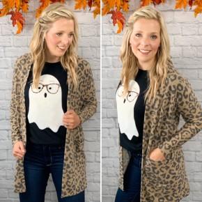Cozy Everyday Leopard Cardigan