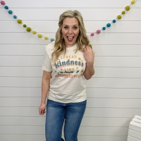 Spread Kindness Like Wildflowers T-Shirt