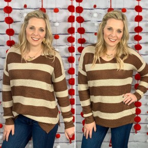 The Pleasant Hill Waffle Knit Sweater