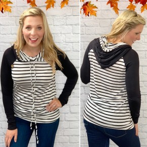In Love With Stripes Hoodie