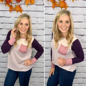The Homecoming Plum Top