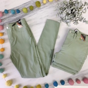 Secret's Out Skinny Jeans - Green