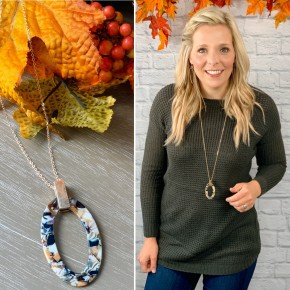 The Love Of Grace Necklace- October Accessory of the Month