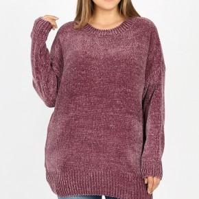 Curvy Chenille Sweater