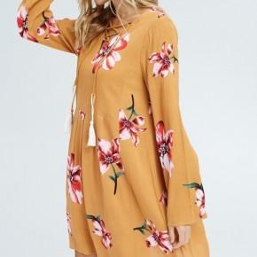 Aubree Floral Dress (2 Colors)