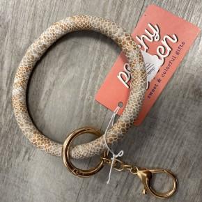 Large Circle Key Ring