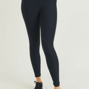 Ribbed Legging in Black by Mono B