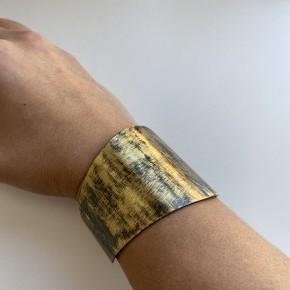 Antique Gold Cuff Bracelet by Panache