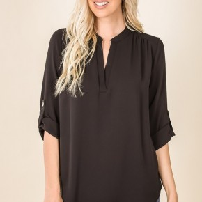 Megan Top in Black (all sizes)