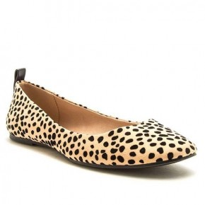 Cheetah Closed Toe Flat Shoe