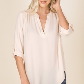 Megan Top in Cream (all Sizes)